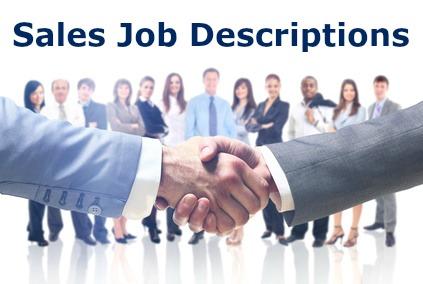 Sales Job Descriptions For All Sales Jobs