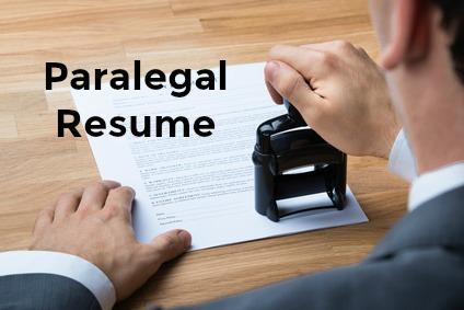 sample paralegal resume - Sample Resume Paralegal