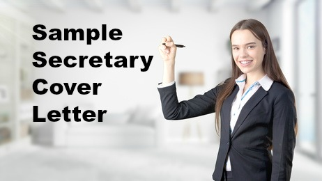 secretary cover letter - Cover Letter For Secretary