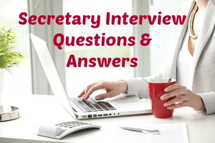 secretary interview questions
