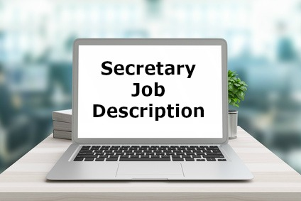 Secretary job description