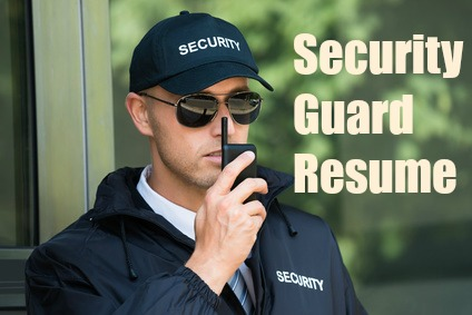 security guard resume sample. Resume Example. Resume CV Cover Letter