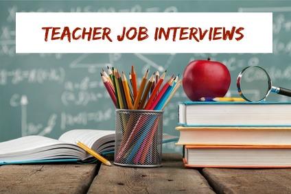 Typical Teacher Job Interview Questions