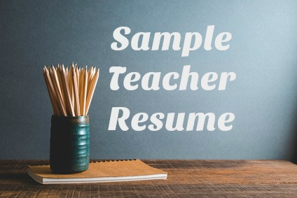 Best Sample Teacher Resume