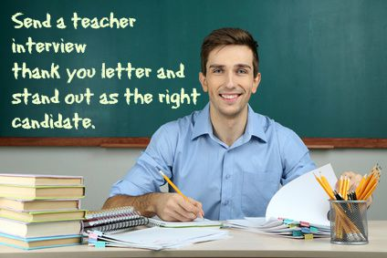 Teaching job interview thank you note
