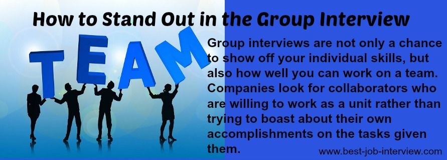 9 top group interview tips