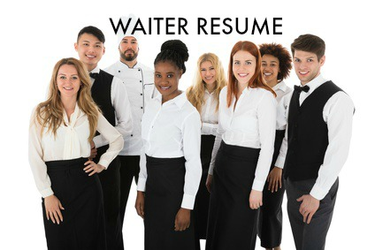 format your resume appropriately and ensure that it is grammatically correct with the proper spelling waiter resume