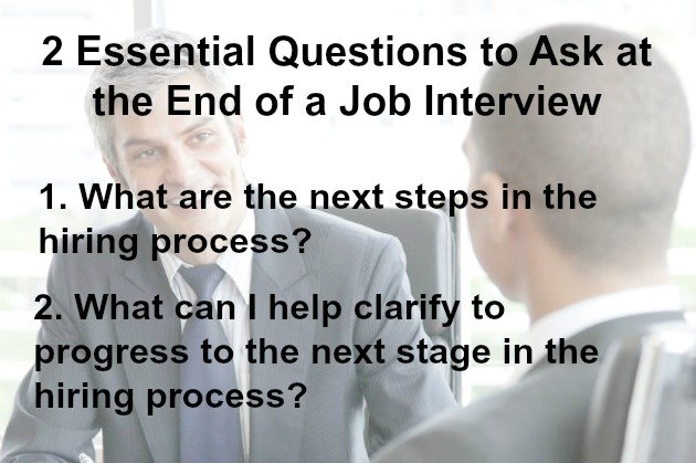 how to close the sales interview