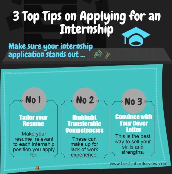 3 tips for internships
