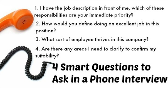 Prepare for Phone Interview Questions – Interview Question