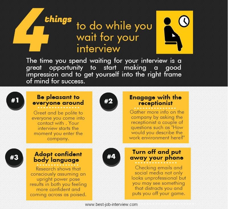 Waiting for your Interview - what to do