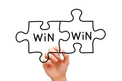 Win win outcome of negotiation