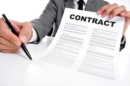 Negotiate contract