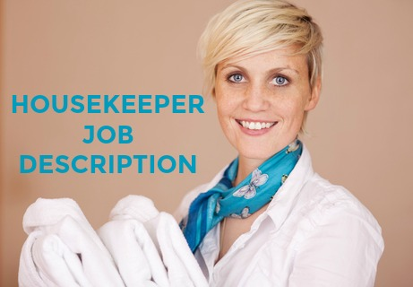 what is the role of a housekeeper