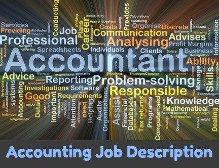 Sample accounting job description