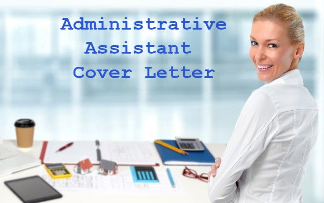 Young female administrative assistant smiling at her desk with writing