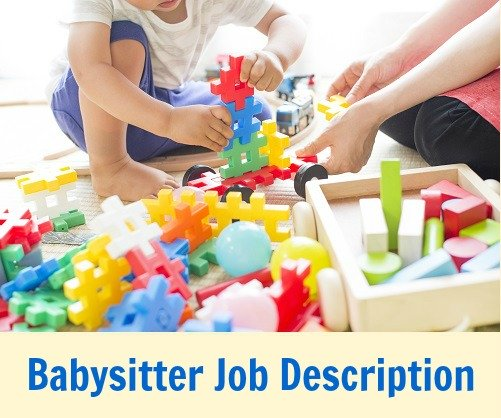 sample babysitter job description