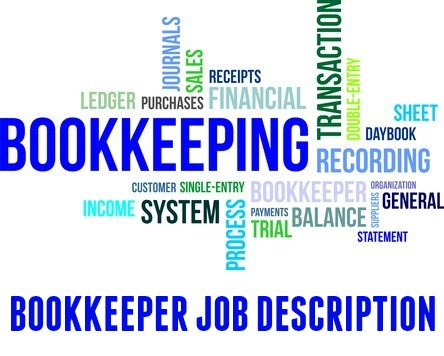 Bookkeeper Job Description