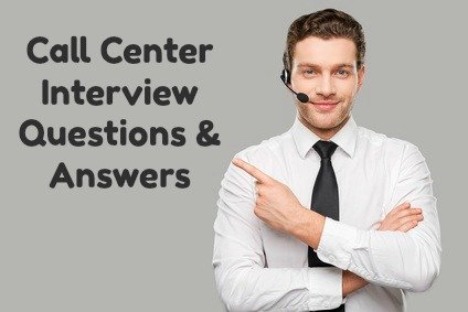 call center interview question and answer Here are our top 50 customer service interview questions, including advice on how to answer them - great for a call centre and team leader interviews.