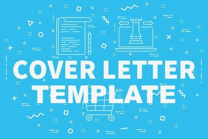 Cover Letter concept illustration with words