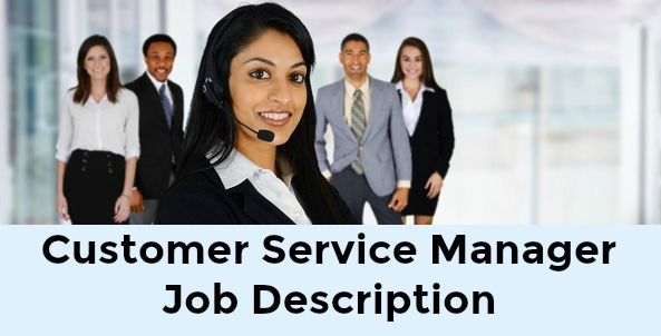 Customer service manager with customer service agents in background