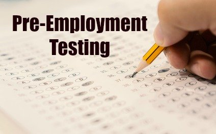 Frequently Used Pre Employment Testing