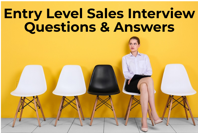 12 entry level sales interview questions