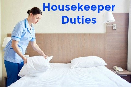 Best Job Interview  Housekeeping Duties