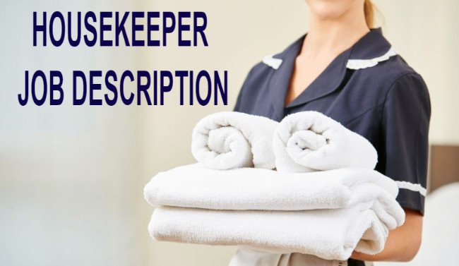 Housekeeper Job Description