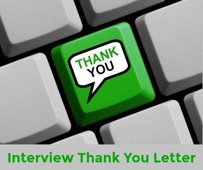 Interview thank you letters altavistaventures Choice Image