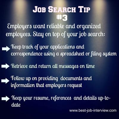 Job Search Tip #3