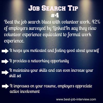 Job  Search Tip #4