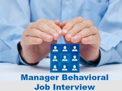 Behavioral interview questions for managers