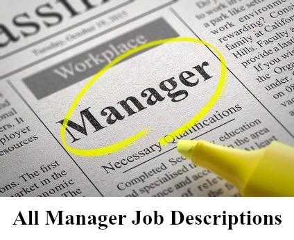 Sample Management Job Description