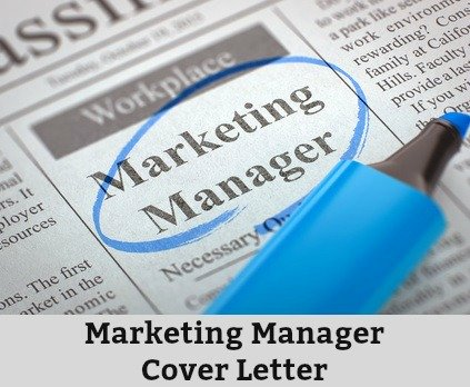 Sample marketing manager cover letter