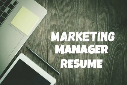 marketing manager sample resumes