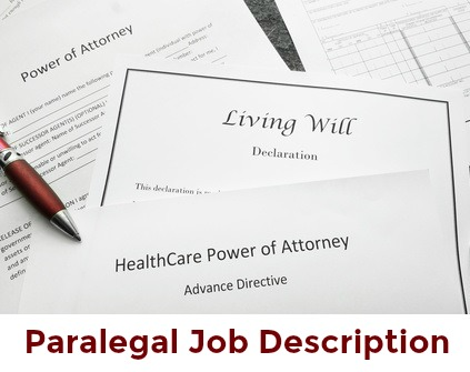 Paralegal documents with red pen