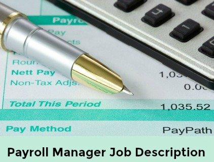 Payroll document with calculator and pen
