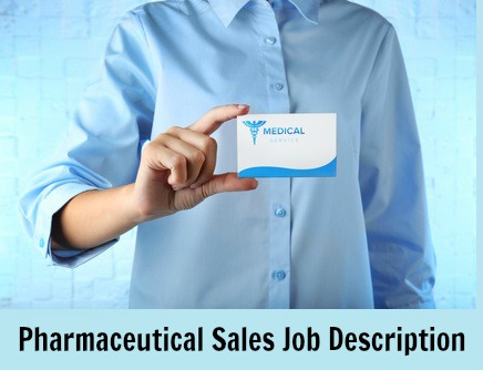 Pharmaceutical sales rep holding business card