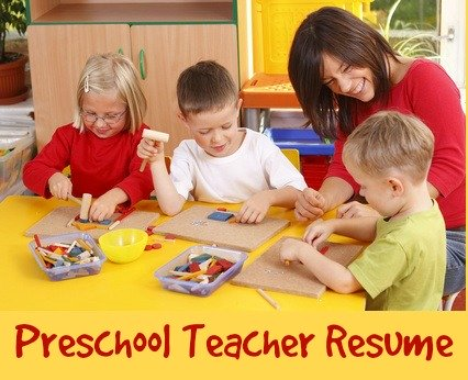 Sample Preschool Teacher Resume