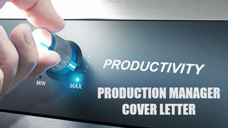 production manager cover letter resume Your cover letter has one goal, to get your resume read with serious consideration this sample letter can be used as a template to create a cover letter that is relevant to the specific production manager job opportunity.