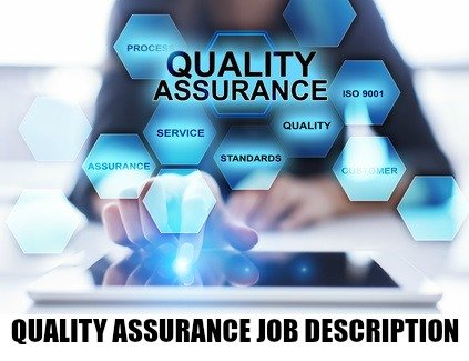 Quality Assurance Job Description  Full Qa Job Details