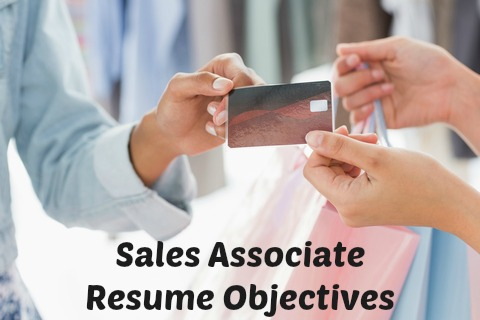 objective of sales associate
