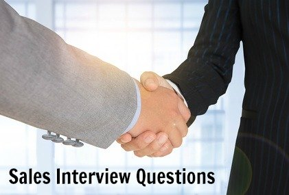 sales job interview questions and answers pdf