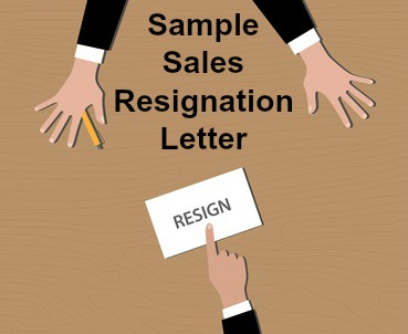 Sales resignation letter thecheapjerseys Choice Image