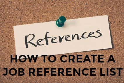 reference list job