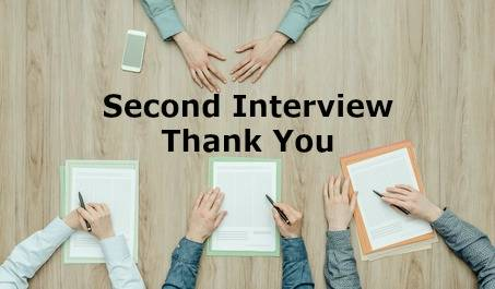 second interview thank you