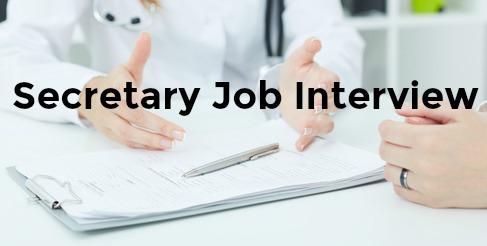Common Secretarial Interview Questions