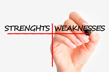 job strengths and weaknesses
