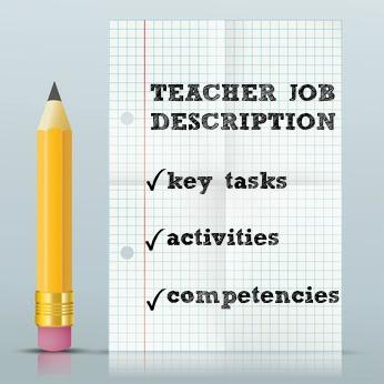 Teacher Job Description